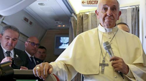 """Papa Francisco teme que inicie una guerra nuclear: """"Estamos al límite"""""""