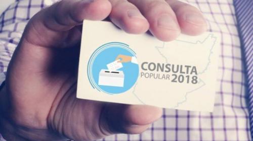 Cancillería presenta su campaña sin presupuesto para el referendo