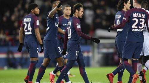 La afición del Paris Saint-Germain se molesta con Neymar Junior