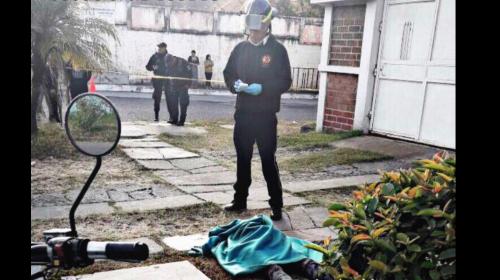 Cámaras de vigilancia captan al asesino de una mujer en la zona 11