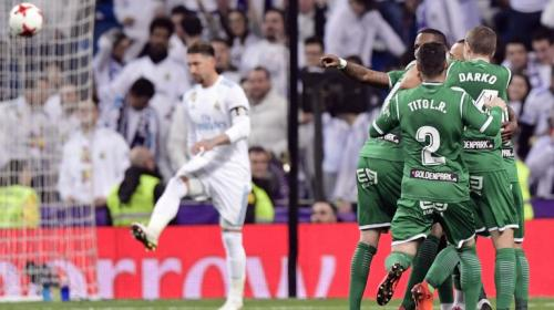 El modesto Leganés elimina al Real Madrid de la Copa del Rey
