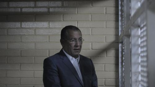 En la carceleta: así espera Arístides Crespo su audiencia