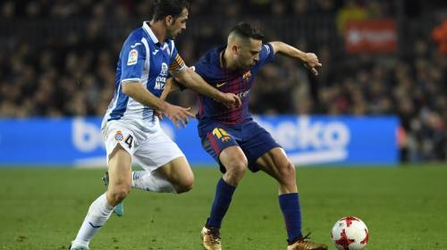 La jugada que pudo cambiar el rumbo del Barcelona frente al Espanyol