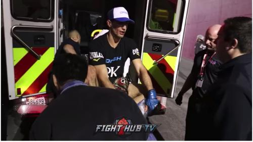 La lesión en la pierna de un luchador que estremece en internet