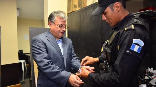 Rudy Villeda, entre los detenidos este jueves por la CICIG y el MP