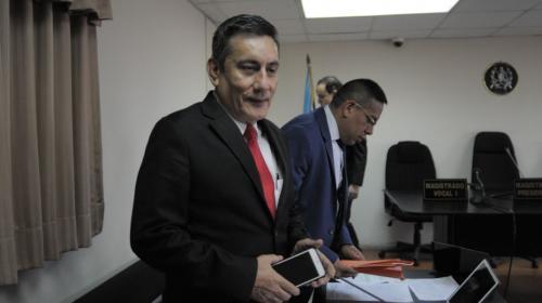 Diputado Roberto Villate declara por antejuicio en su contra