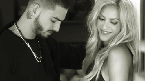 """Shakira lanza un sugerente video de """"Trap"""" junto a Maluma"""