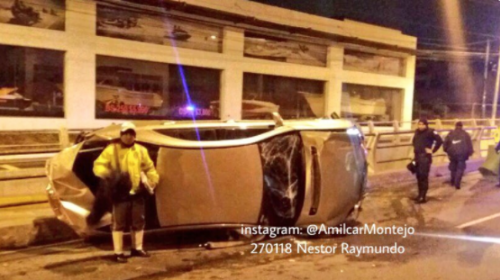 Reportan dos graves accidentes en la capital