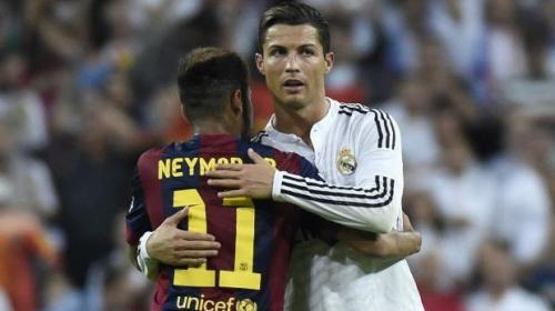 "Neymar: ""Veo en Cristiano Ronaldo un espejo"""