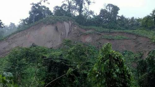 Lluvias provocan inundaciones y deslizamientos de tierra en el país