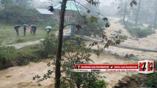 Tragedia: río Chajul arrastra a dos niños que trasladaban maíz