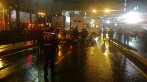Más de 15 vehículos chocaron en el Puente Belice en ambas direcciones