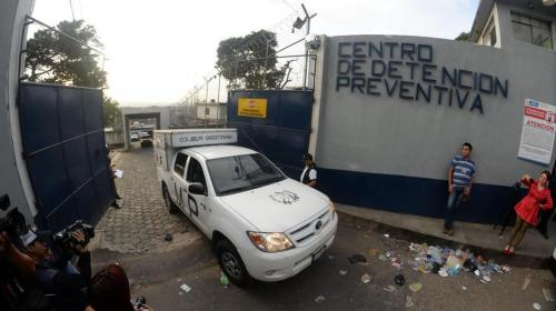Asesinan brutalmente a cuatro reos en el Preventivo de la zona 18