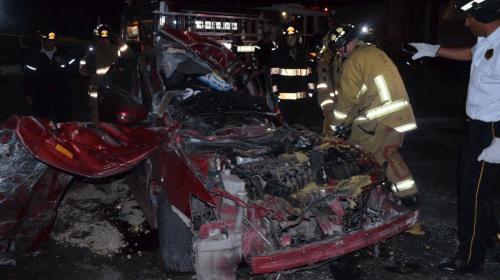 Supuesto responsable de accidente en Amatitlán estaba ebrio