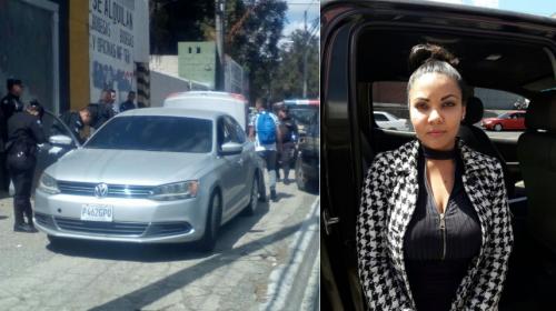 Capturan a mujer que viajaba en un vehículo robado en el Periférico
