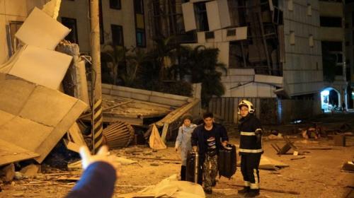 Jimmy Morales envía su apoyo a Taiwán tras el fuerte sismo