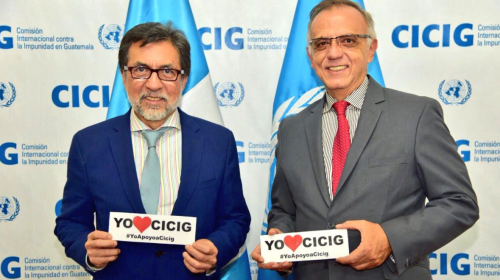 Embajada de EE.UU. reafirma su apoyo a CICIG e Iván Velásquez