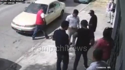 Cámaras de vigilancia graban asalto múltiple en zona 11