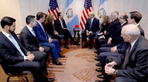 ¿Quién es quién en la reunión Jimmy Morales-Donald Trump?