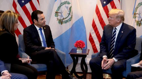 Jimmy-Trump, una reunión y dos formas de contarla