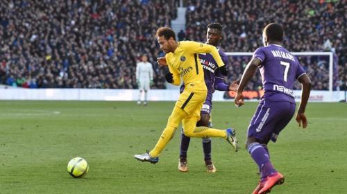 La espectacular jugada de Neymar que le dio la victoria al PSG
