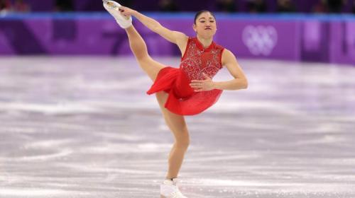 Patinadora logra histórica pirueta en los Juegos Olímpicos de Invierno