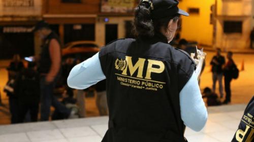 Reportan ataque armado contra una fiscal del Ministerio Público