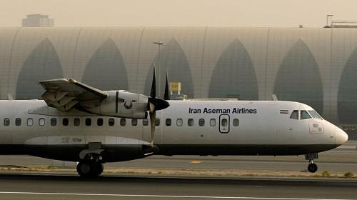 Tragedia en el aire: avión se estrella en Irán, temen lo peor