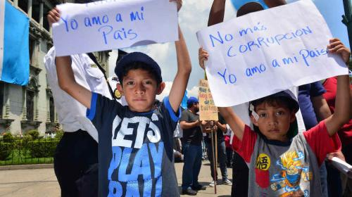 ¿Luchar contra la corrupción es dividir a Guatemala?