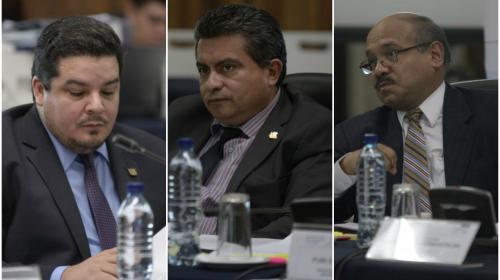 Las multas contra tres comisionados que elegirán al Fiscal General