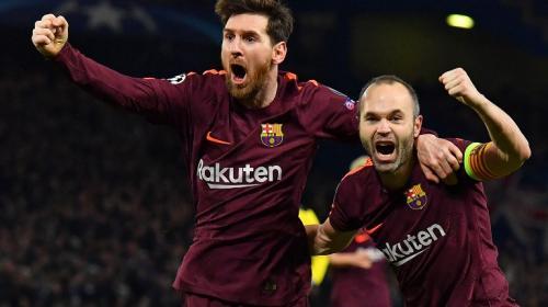Leo Messi y los palos salvaron al Barcelona en su visita al Chelsea