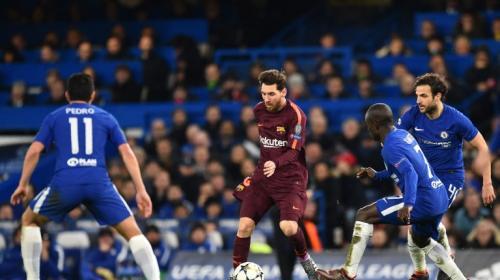 """Lo que no se vio: el """"guardaespaldas"""" de Messi y la broma a Fábregas"""