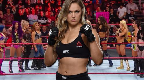 Ronda Rousey firma con la WWE y desde ya hace de las suyas