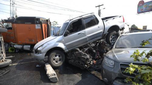 Ligan a proceso al piloto del tráiler accidentado en la Interamericana