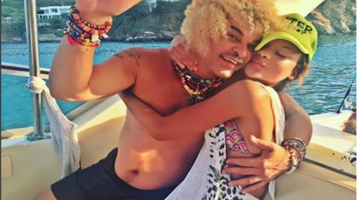 Hija de Carlos Valderrama enciende las redes al imitar a Shakira