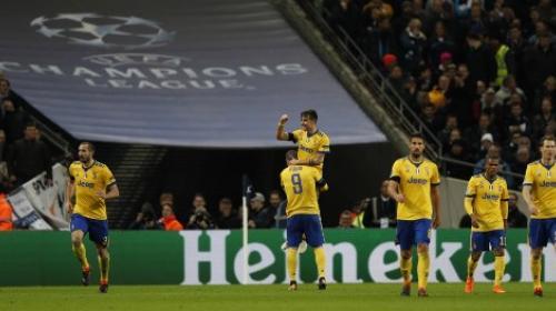 Juventus elimina al Tottenham en un partido vibrante