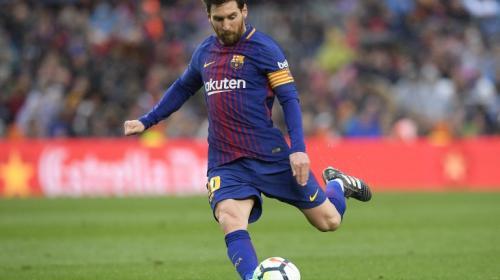 Messi, ausente a última hora del partido Barcelona-Málaga