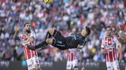 El espectacular golazo de chilena en el fútbol mexicano