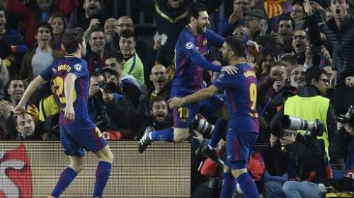 Así fue el gol más rápido de Lionel Messi en la Champions League