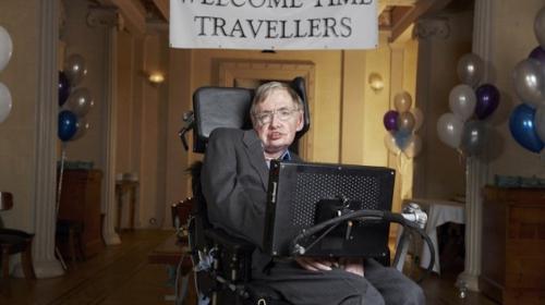 Stephen Hawking organizó una fiesta a la que ningún invitado asistió