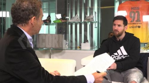 Lionel Messi explicó cómo se autoinyectaba la hormona de crecimiento