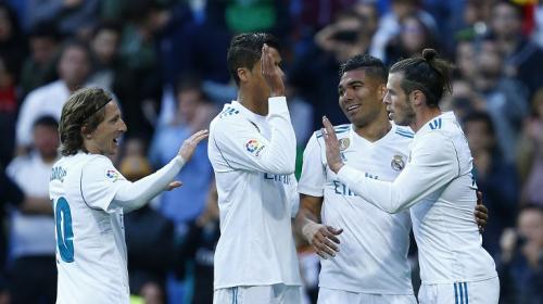 El Madrid está en forma para la final de la Champions y goleó al Celta