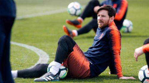 Lionel Messi no fue convocado para el partido contra el Levante