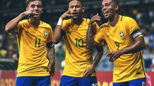 Neymar encabeza la lista de convocados de Brasil para Rusia 2018