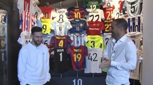 Messi abrió las puertas de su espectacular museo personal en Barcelona