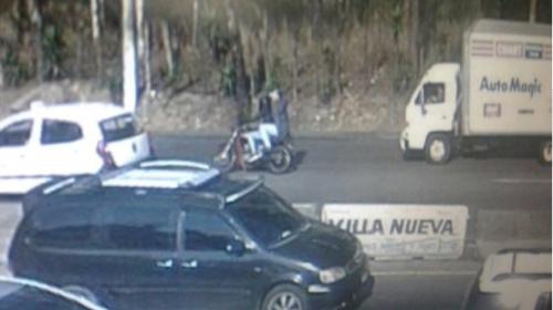 Difunden imágenes de sicarios que atacaron a piloto en la Villa Lobos