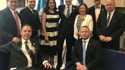 Los diputados que viajaron a Israel para el cambio de embajada