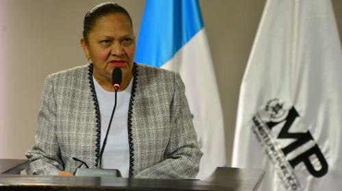 Así fue la primera conferencia de prensa de la fiscal Consuelo Porras