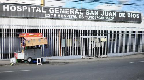 Temblor causa daños en el área de emergencia del Hospital General
