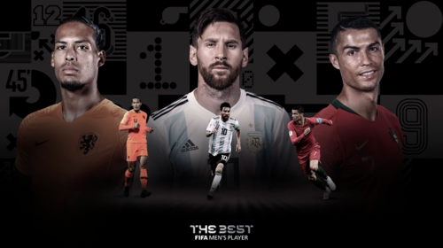 Messi, CR7 y Van Dijk, los tres nominados al premio The Best